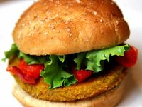 ... about Burgers on Pinterest | Veggie burgers, Vegan burgers and Lentils