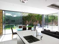 Victorian house kitchen extension