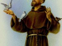 St Francis of Assisi.