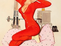 pin up anni 50