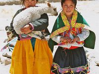 people in cultural dress,etc.
