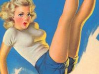 it's all about well rendered pinups, pinup models and things related.