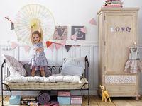 Inspiration for kids' rooms. For more, visit www.bebecomestilo.com