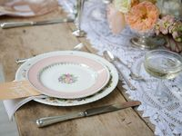 Vintage Lace and Linens Tablewear