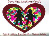 valentines day esl crafts