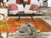 zebra decor...
