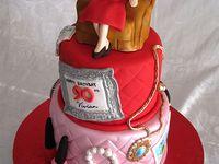birthday cakes on Pinterest  Elegant Cakes, 40th Birthday Cakes and ...