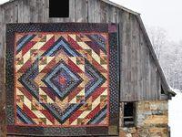 Quilts - Barns