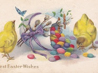 Easter and spring inspiration...flowers, nests, eggs, baskets, and bunny rabbits!