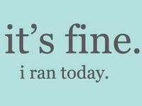 // just keep running