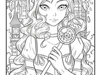 82 Best jade summer images | Summer coloring pages, Adult ...