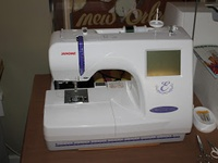 72 best images about janome 300e embroidery machine on for Janome memory craft 9500