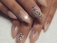Gender Reveal Nails Gender Reveal Nails Nails Trendy Nails
