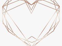 Love Heart Triangle Glitter Rosegold Geometric Geometric Rose Gold Heart Png Transparent Png Is Free Transpar Geometric Rose Rose Gold Heart Rose Gold