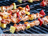 ... on Pinterest | Grilled Chicken, Beef Skewers and Apricot Chicken
