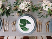 Table settings & floral