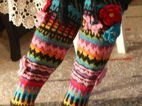 Вязаные носки,митенки...
