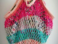 Sacs tricot/crochet