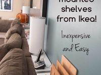 IKEA Hack / IKEA Möbel hat doch fast jeder. Aber diese müssen nicht so aussehen wie alle. Viele tolle Ideen rund um Billy, Moppe und Co. Sehen-staunen-machen!