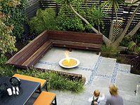 1000 images about split level garden ideas on pinterest for Backyard entertaining landscape ideas