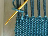 Weaving / Weaving, handwoven scarves and wraps, handwoven decor