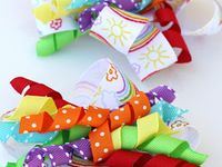 How to make hair ribbons