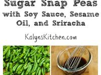 Spicy Stir-Fried Sugar Snap Peas With Soy Sauce, Sesame Oil, And ...