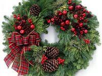 Kränze Weihnachten und Winter