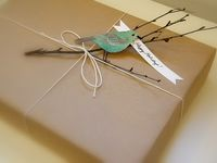 CREATIVE: Gift Wrapping & Tags