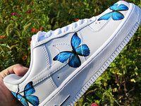 50+ Custom AF1 Butterfly ideas