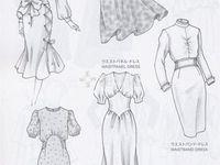 dress skect inspiration