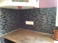 Carrelage mural adh sif r alisations on pinterest - Carrelage adhesif smart tiles ...