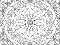 Coloring for Mental Health Pictures