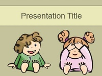 This board contains a lot of backgrounds with people (kids, men, women, babies) that you can use in your PowerPoint presentations