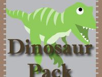Dinosaur Crafts and Printables for kids