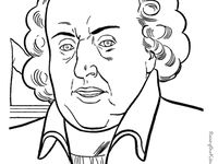 abigail adams coloring pages - photo#21
