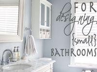 Gray Bathrooms