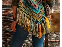 Ponchos, Outer Wear For Women