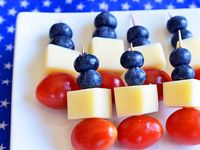 Red, White And Blue Food And Drink
