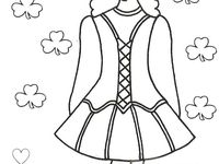 irish dance coloring pages - 8 best images about irish dancing on pinterest irish