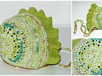 Chapéus em croché / Artigos feitos à mão em croché com fio 100% algodão