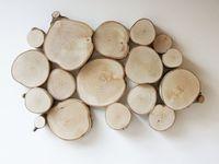 Trozos troncos deco