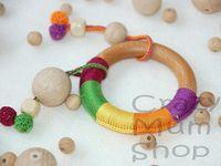 Crochet baby accessory.