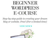 Blogging Course and Resources