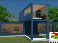 17 best images about casas hechas con contenedores - Casa hecha de contenedores ...