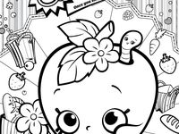 1000 images about shopkins on pinterest for Strawberry kiss shopkins coloring page
