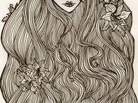 >drawing pen & ink, pencil, charcoal, etc.