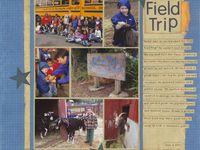 Field Trip Scrapbook