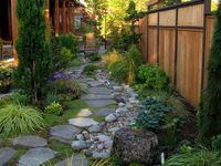 32 Best Images About Dry Scape Ideas On Pinterest