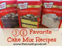 about Doctored Up Cake Mix Ideas on Pinterest | Yellow cake mixes ...